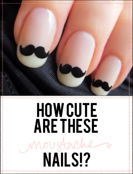 Trending Nail Designs Stache Nail Stamping Nails Done Right