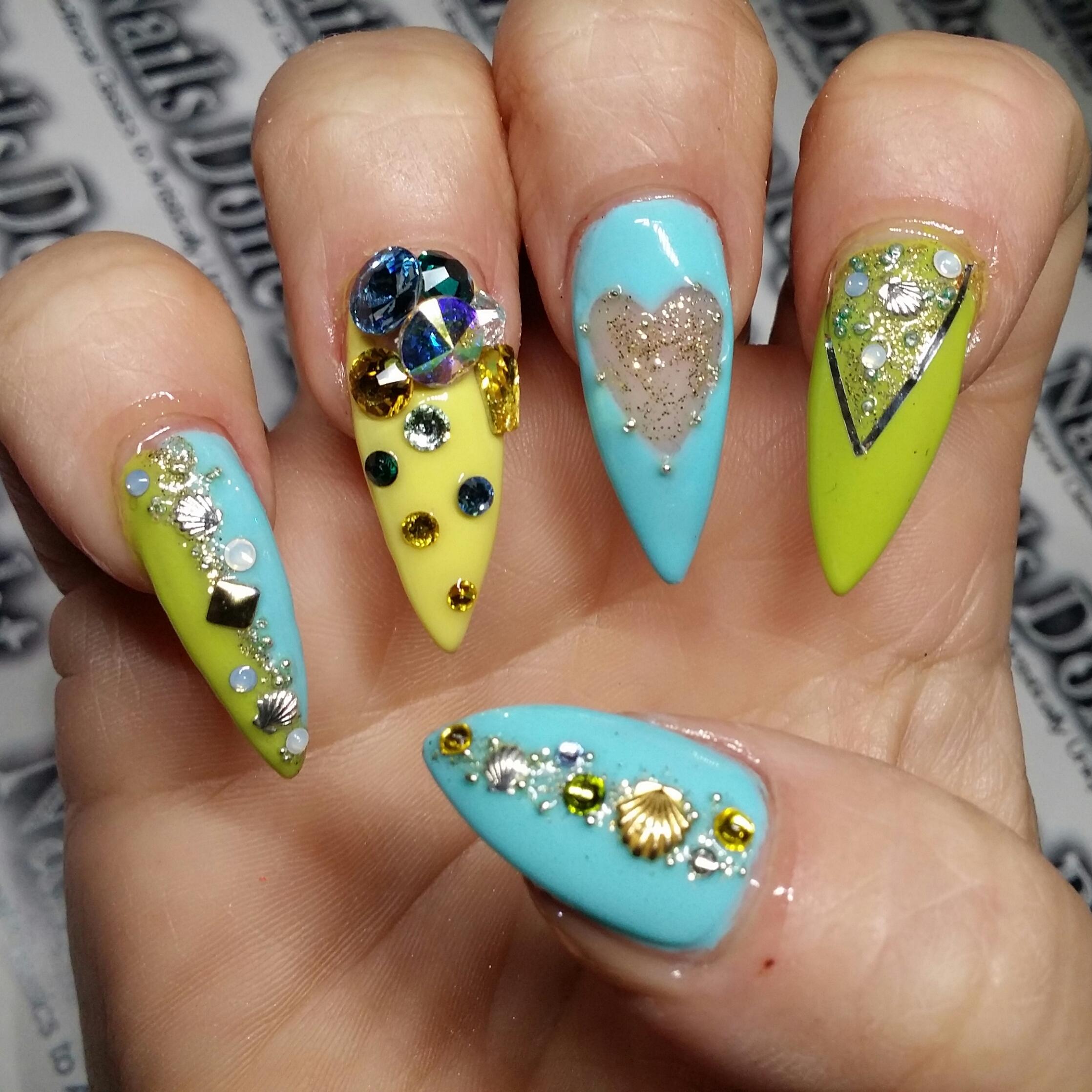 stiletto nails | Nails Done Right