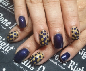 Polka dot fun!!! thanks to my niece for this