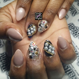 3d stiletto nails