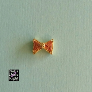 Gold Bowtie Charm 5 for $4.50