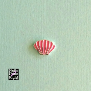 Pink Shell Charm 5 for $3.50