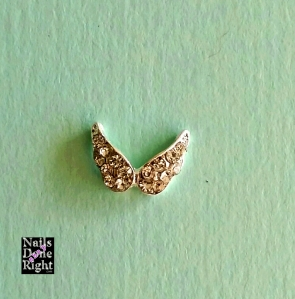 Angel Wing Charm 5 for $3.50